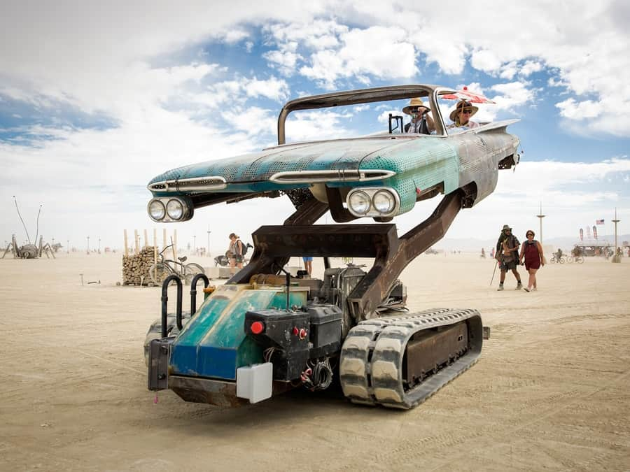 Burning Man Mutant cars 1