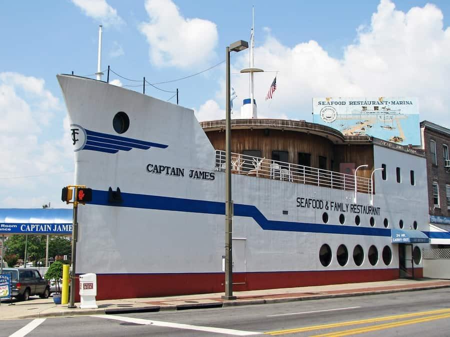 Captain James Seafood Palace Restaurant