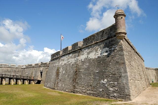 Castillo De San Marcos Fort St Augustine Florida