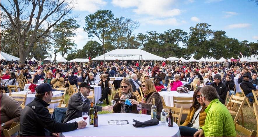 Charlestone wine & food festival eastcoast
