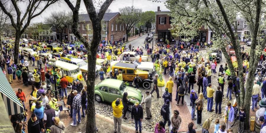 Daffodil Festival - Nantucket, Massachusetts