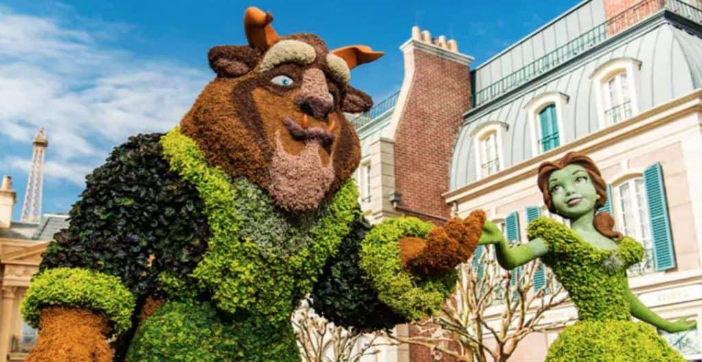Disney Flower & Garden Festival Epcot