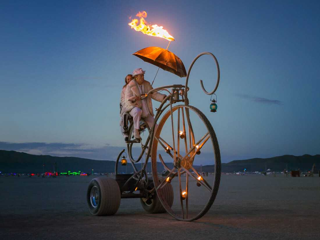 Dreamcycle Burning Man