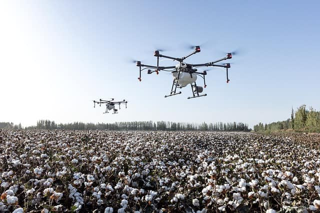 Drone Farming Agriculture