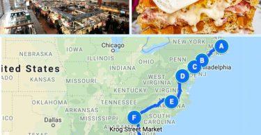East coast foodie road trip 1