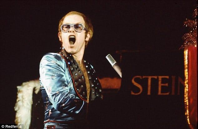 Elton John Celebrity Home Beverley Hills