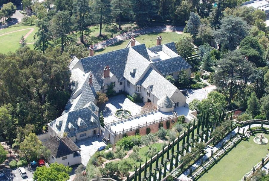 Greystone Mansion (905 Loma Vista Dr Stars Home Tour