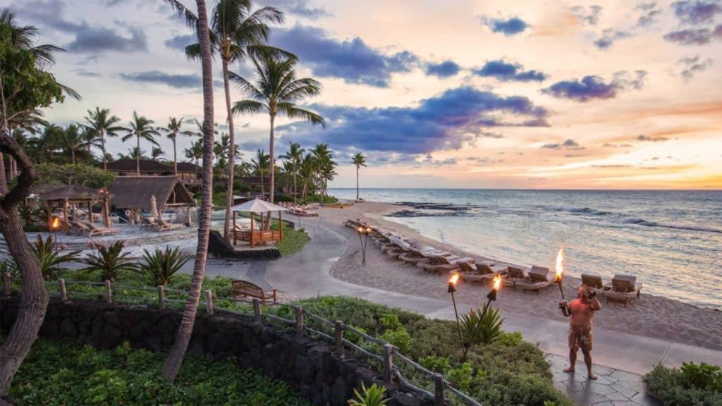 Hualalai Luxury Resort Four Seasons