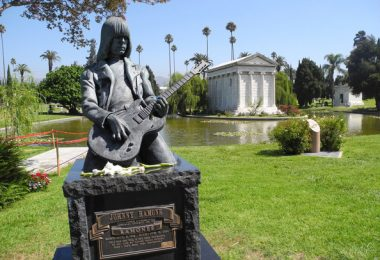 Johnny Ramoe Grave Hollywood+Forever+Cemetery+