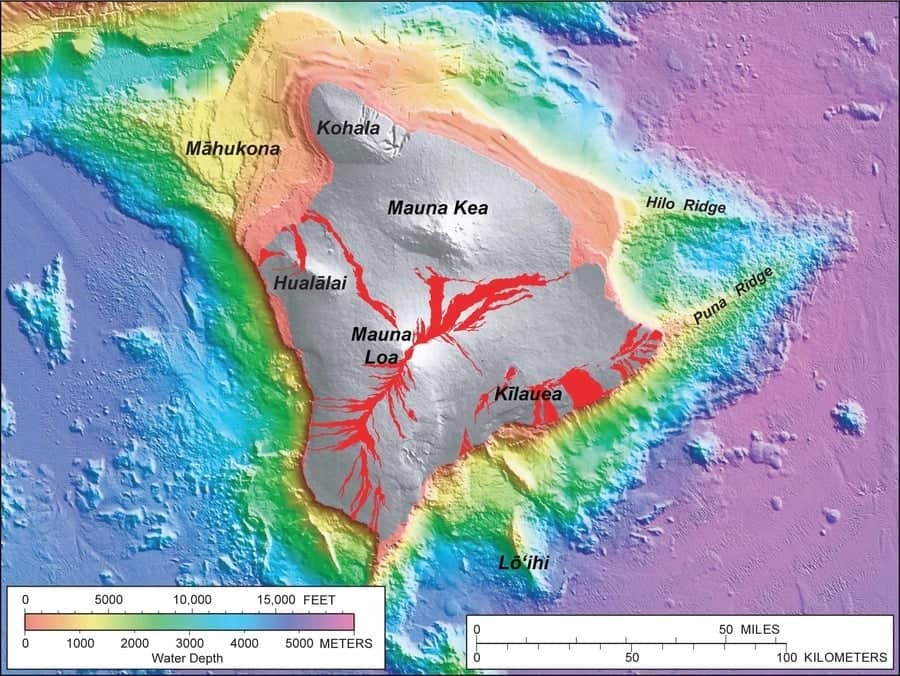 Lohi Submarine Volcano Hawaii