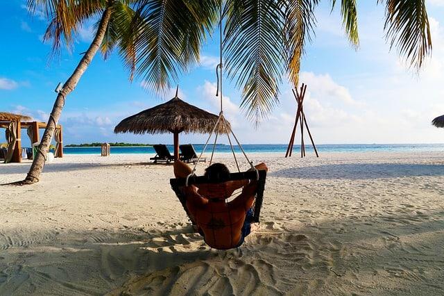 Hulhumale Bikini Beach Maldives