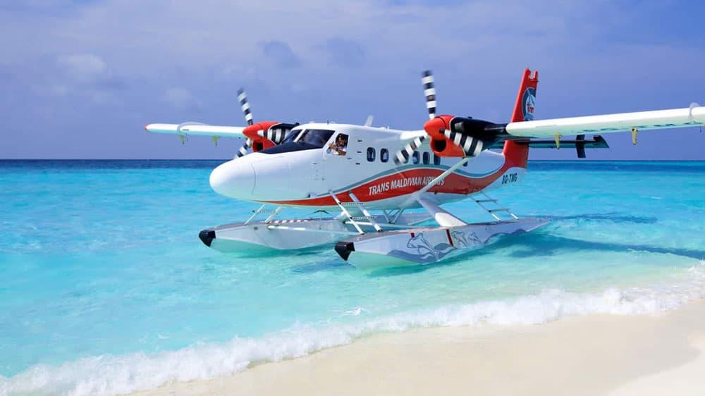 Maldives-Sea-Plane-Transport-Budget Maldives Itinerary