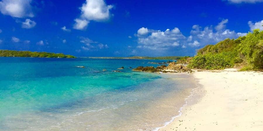 Navio Beach vieques Iand - White sands Puerto rico