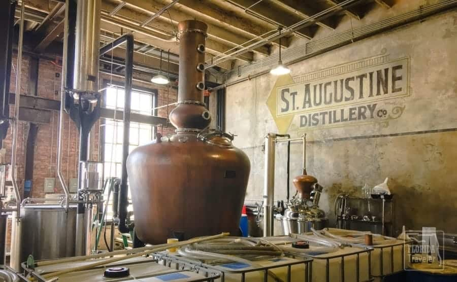 St Augustine Distillery Florida Weekend Getaway