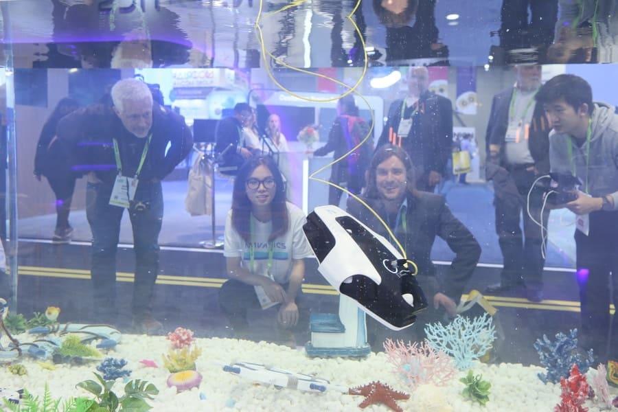 Underwater Drone Technology CES 2019 Las Vegas