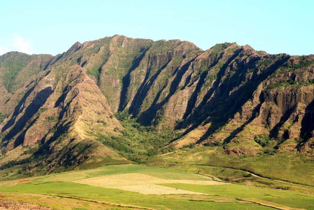 Waianae Mountain Range Hawaii