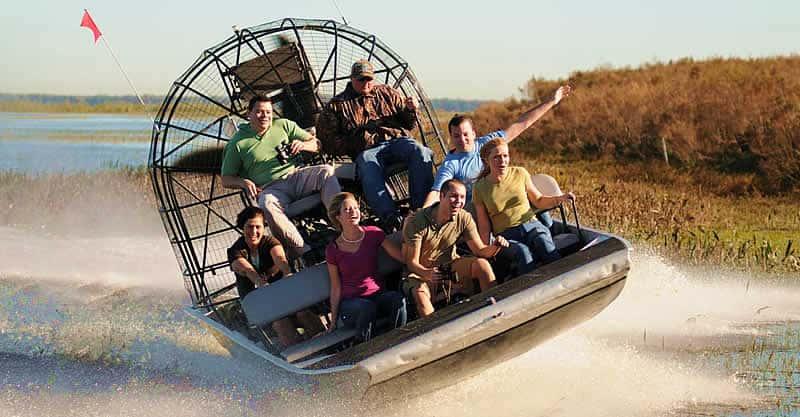 everglades National Park Air boat Alligator tour