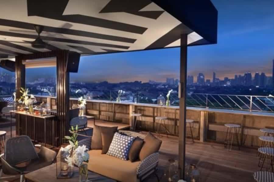 BART Jakarta Rooftop Bar
