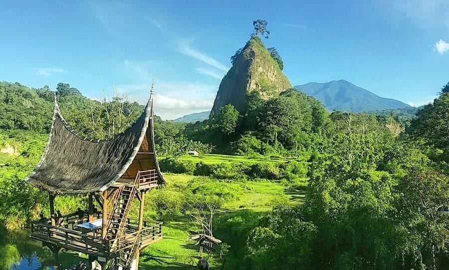 Bukittinggi island indonesia