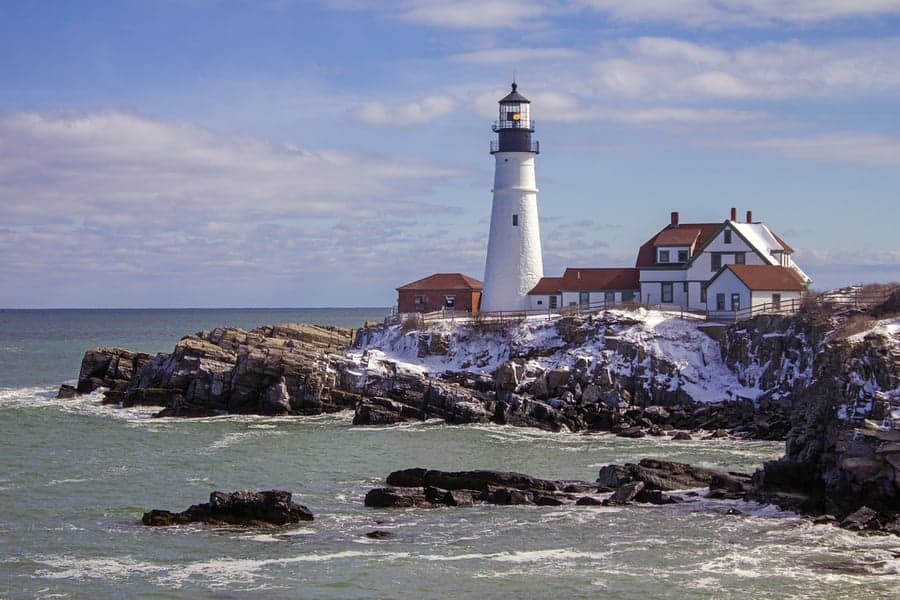 Cape Elizabeth Lighthouse maine 3