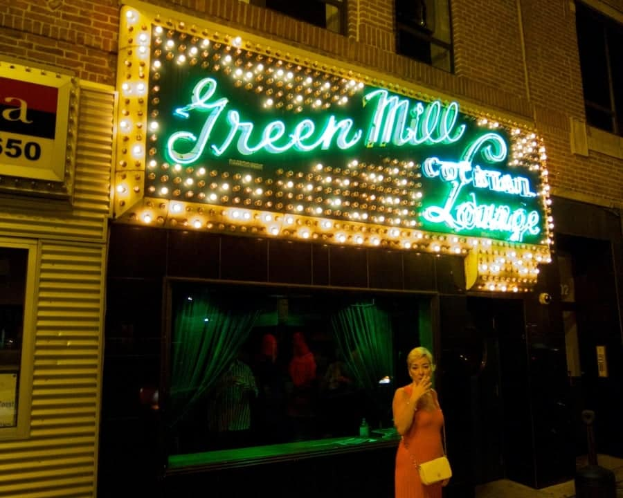 Green Mill Lounge Chicago Al Capones hangout