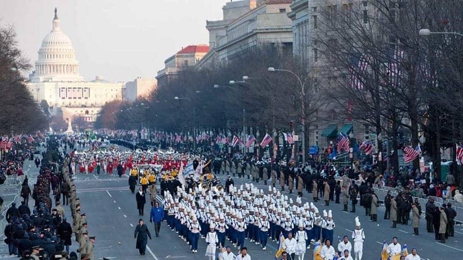 Inaugural Parade New york City