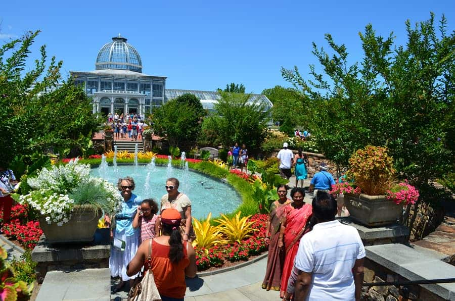 Lewis Ginter Botanical Garden guide