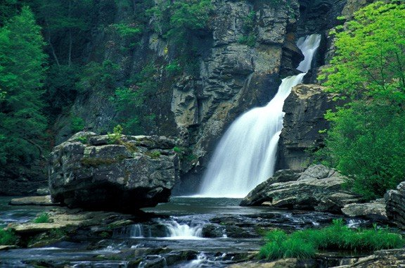 Linville Falls - Blue Ridge Mountains.