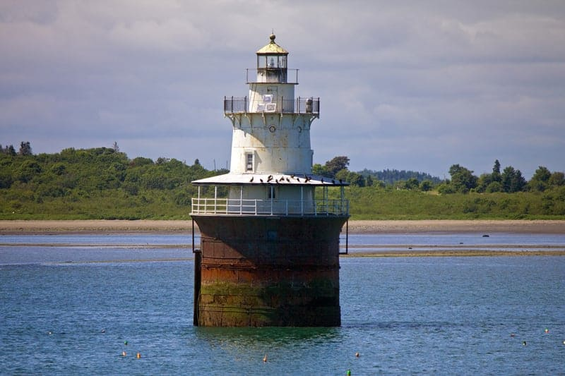 Lubec Channel Light (sparkplug lighthouse)