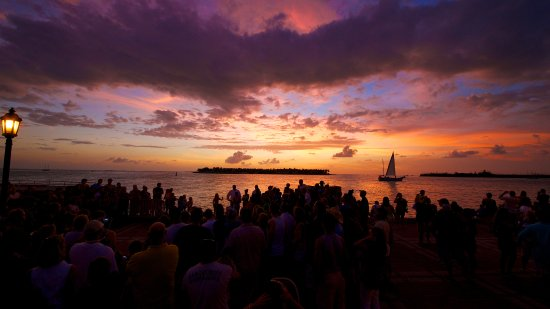 Mallory Square Keywest sunset