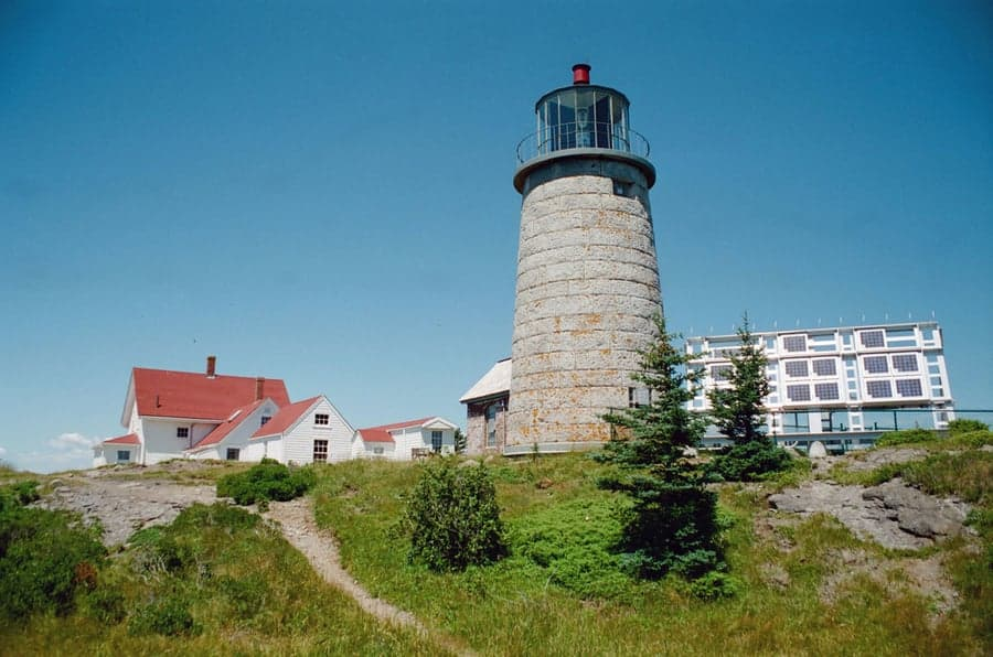 Monhegan Lighthouse maine 1