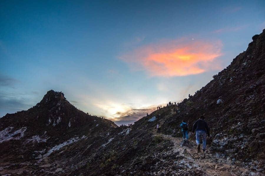 Mount Sibayak Volcano