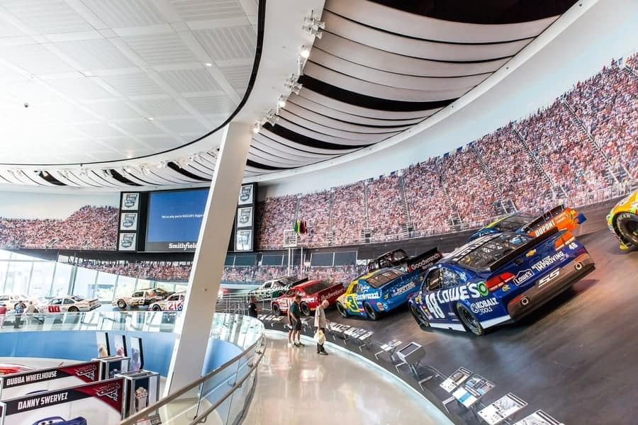 NASCAR hall of fame charlotte north Carolina