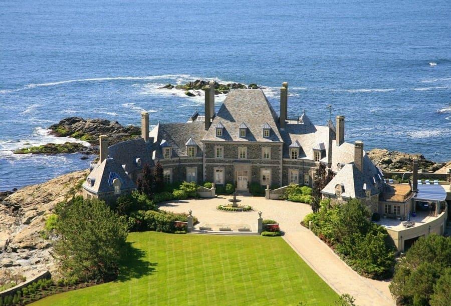 Newport Rhode Island Jay Leno Mansion)