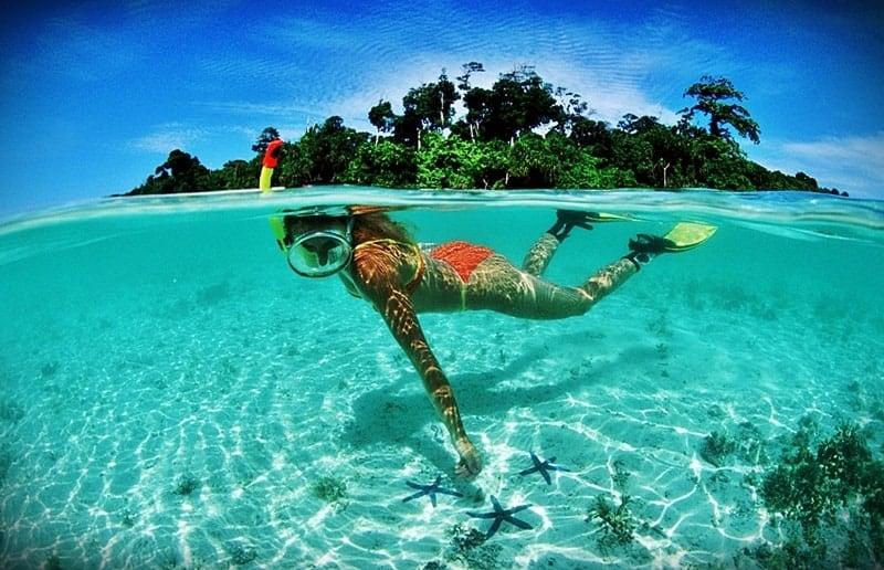 Nias Sumatra island