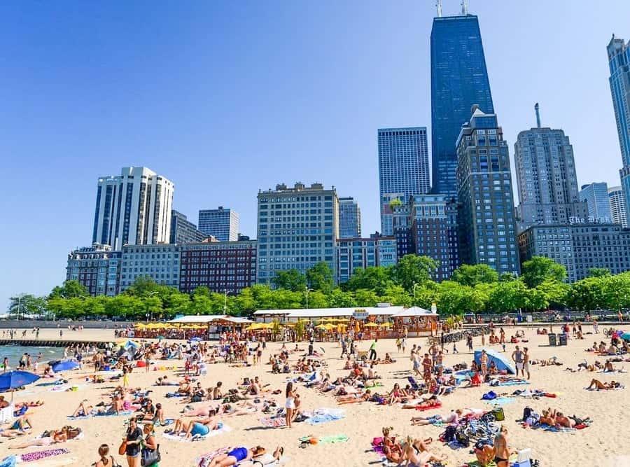 Oak Street Beach Chicago 1