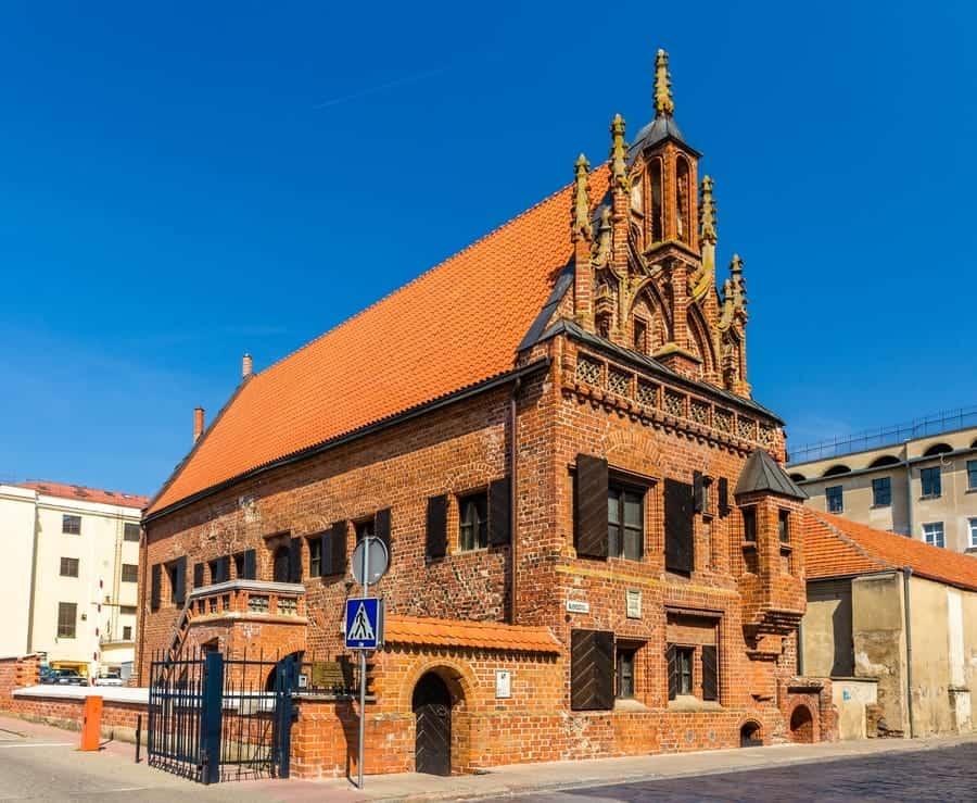 Perkunas House,Kaunas Lithuania