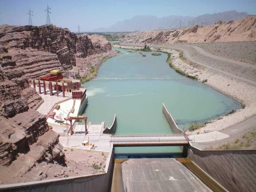 Quebrada de Dique Ullum - DAM good Reservoir!1
