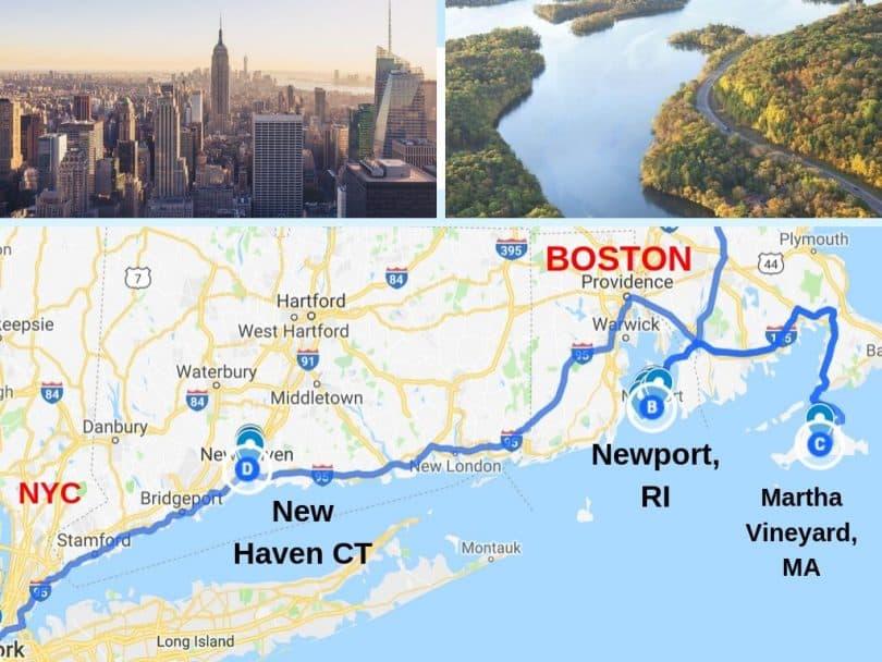 Road Trip Boston to New York City