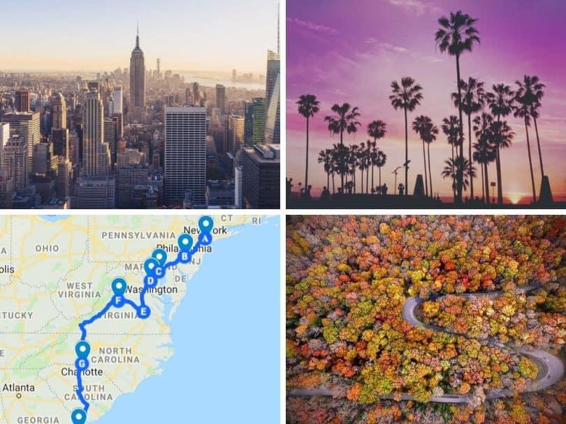 Road Trip New York to Miami