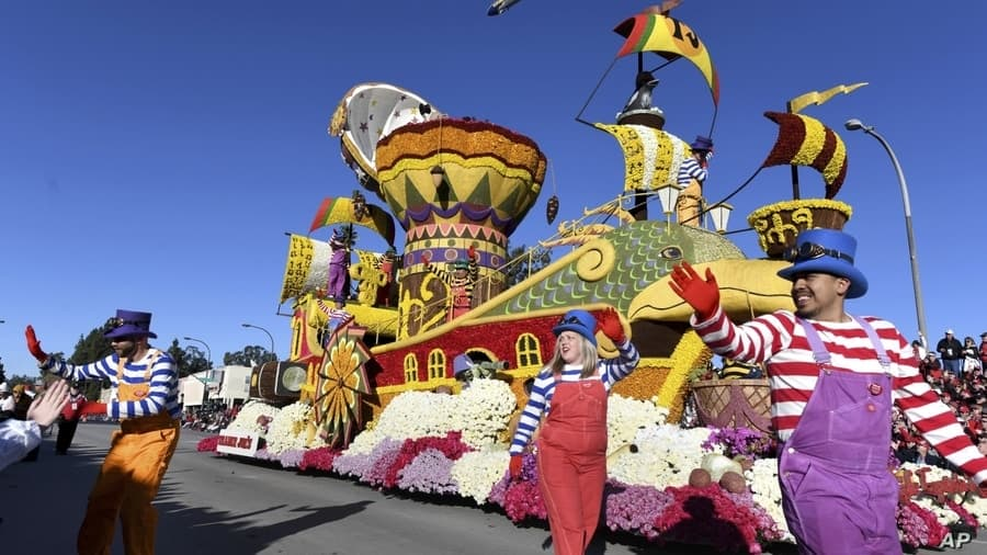 Rose Parade California