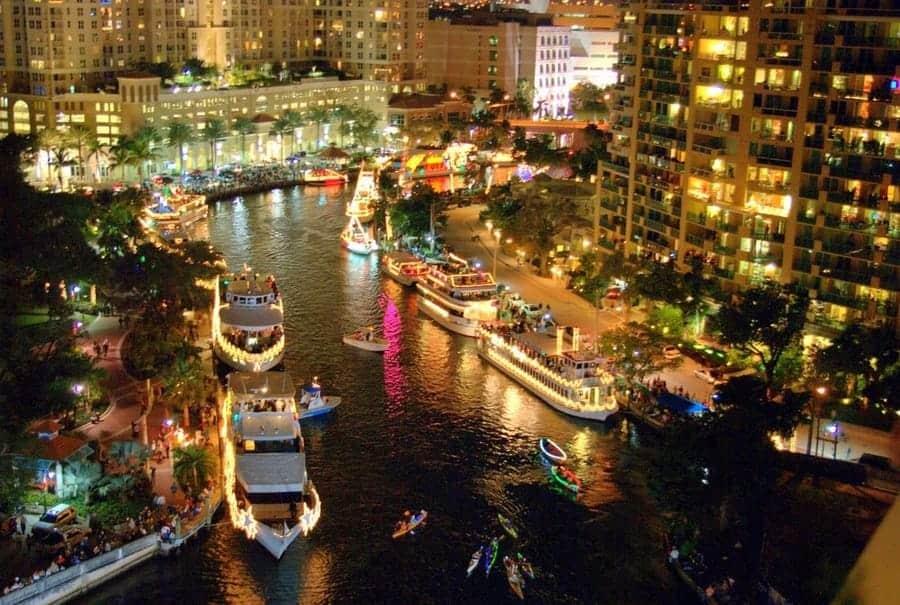 Seminole Hard Rock Winterfest Boat Parade 1