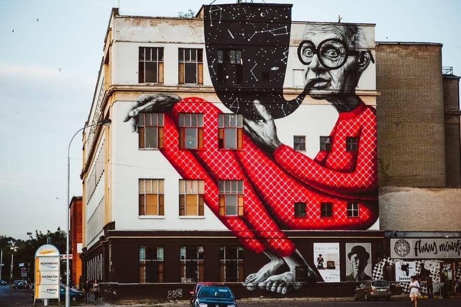 Street Art in Kaunas Lithuania