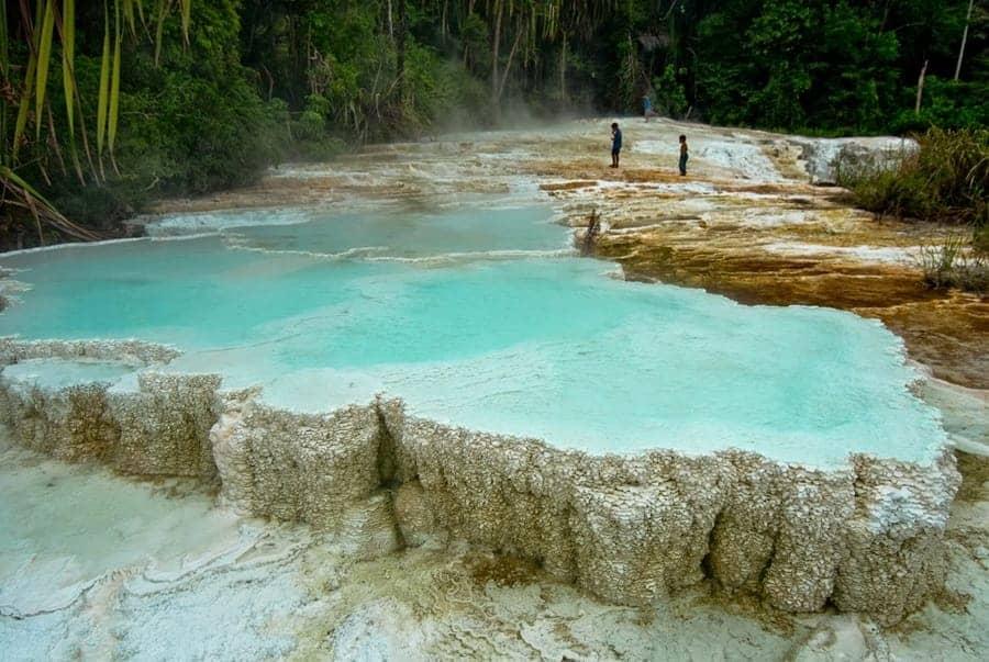 Tinggi Raja Hot Springs:White Crater 1