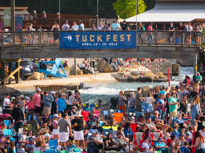 Tuck Fest at the U.S. National Whitewater Center - April