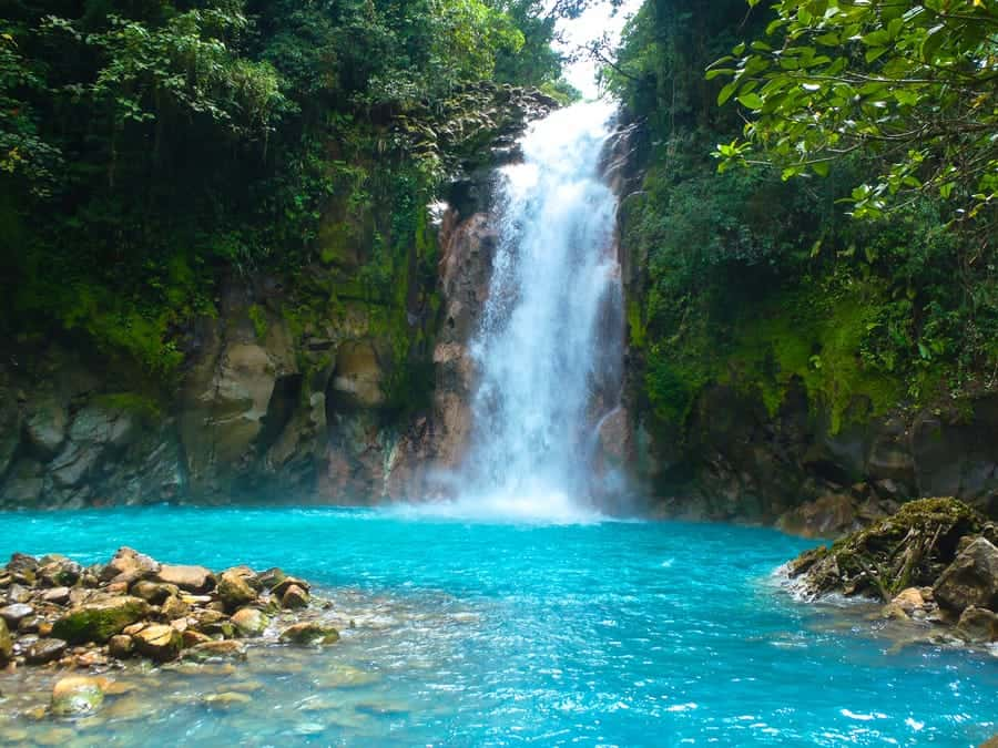 Two Colored Water Fall (Sibolangit Waterfall ) 1