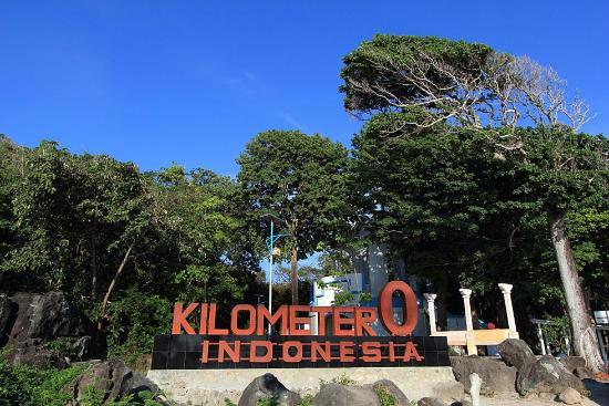 zero 0-km- Weh Island indonesia