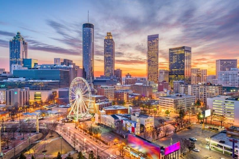 Atlanta road trip