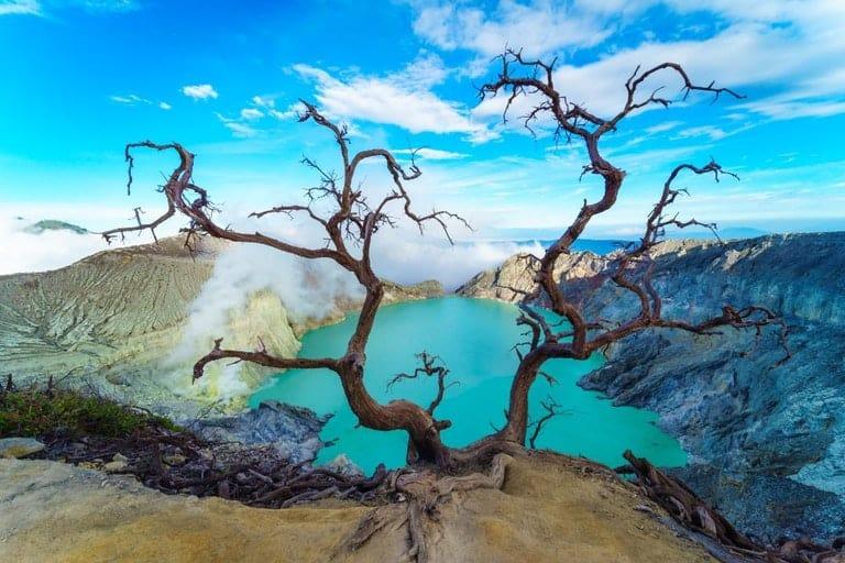 Banyuwangi. Ijen Crater, Java, Indonesia