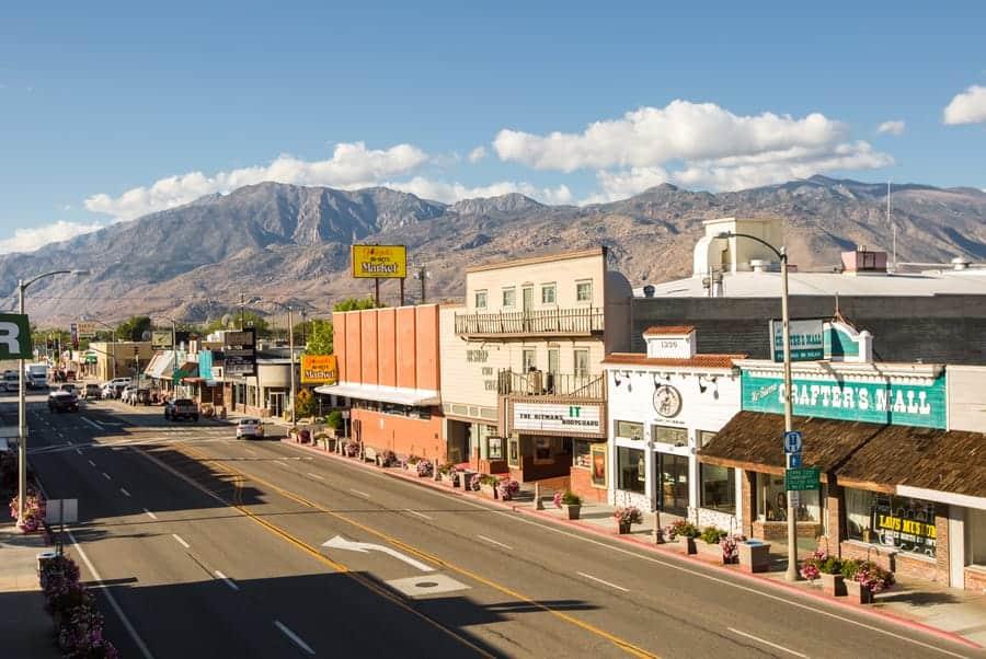 Bishop Sierra Nevada mountains